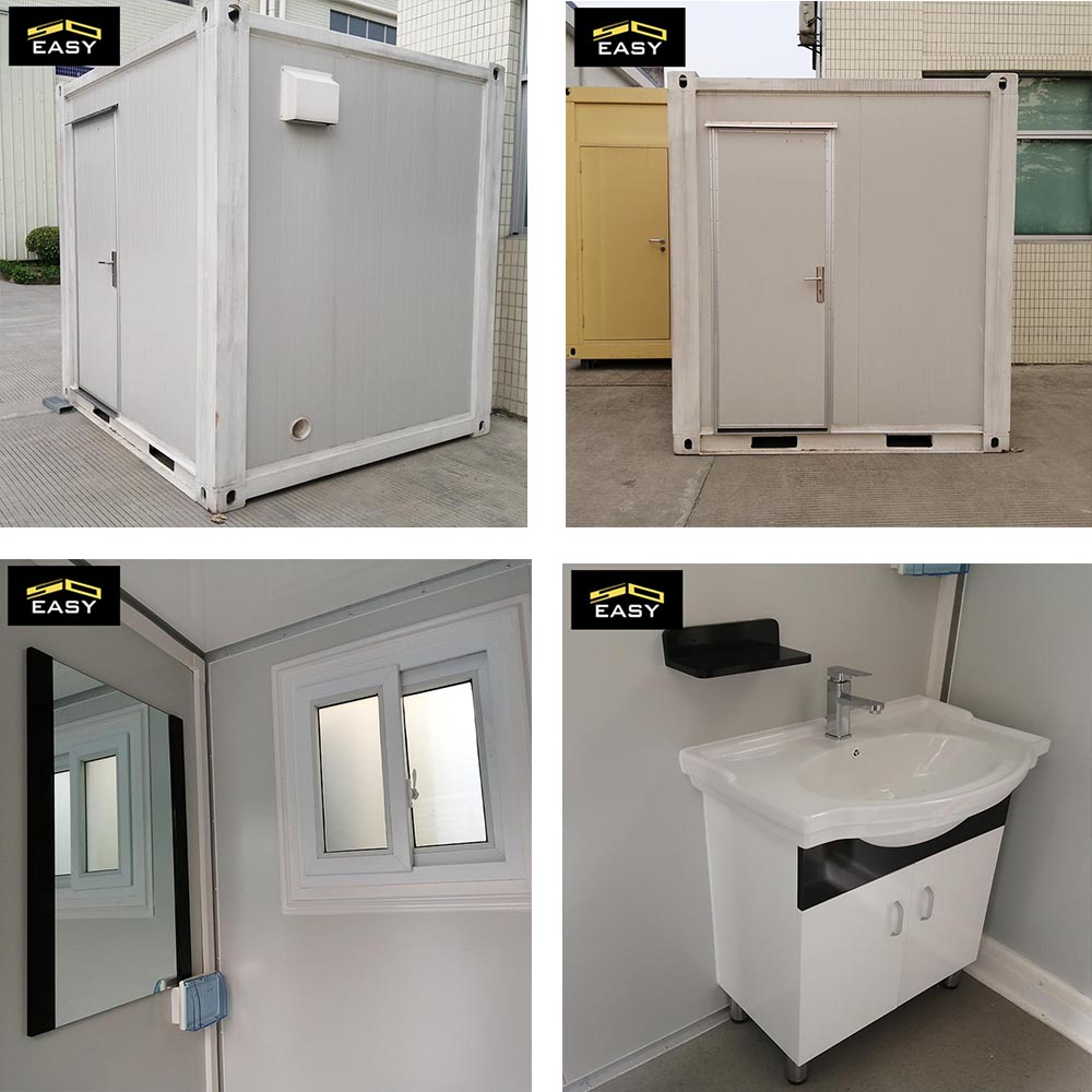 flat pack container toilet