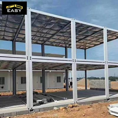 Easy assemble Flat pack container house  container clinic container hospital