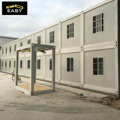 Two floor Construction Site Office Building Prefabricated House Flat Pack Container Office