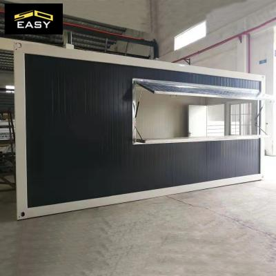 Flat Pack Foldable low cost high quality Mobile Prefab Container Shop