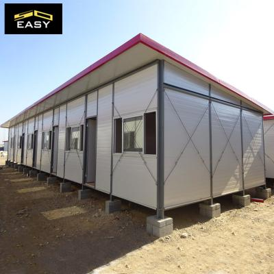Fast installation steel structure Prefab k House With Bathroom