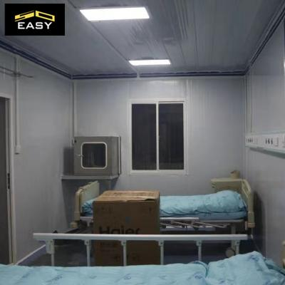 Economical modular Flat pack container house  container clinic container hospital