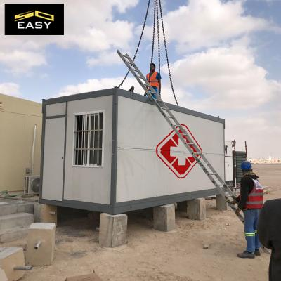 Folding container home for Coronavirus Isolation ward