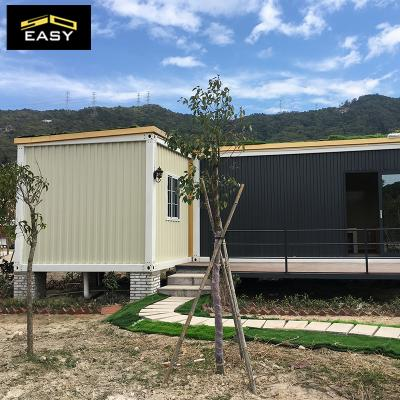 high quality luxury Prefabricated flat pack Container Homes/villa