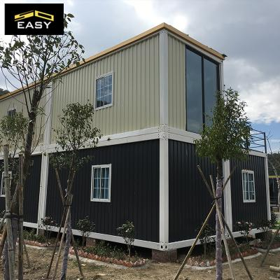 two floor modular flat pack Container villa/hotel
