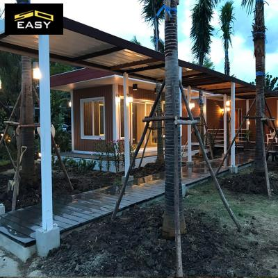 Family holiday resort prefabrication flat pack Container villa/homes in Malaysia