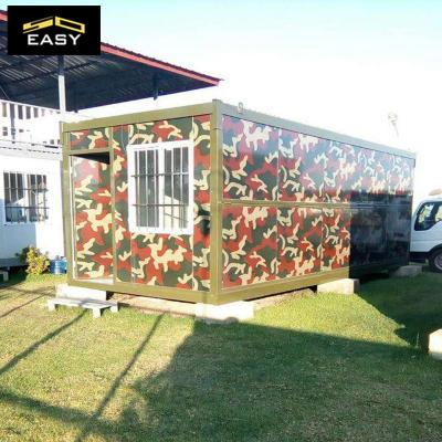 quick deploy camouflage color folding container for military container house