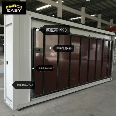 latest design expandable container house for modern worker's portable dormitory in Singapore