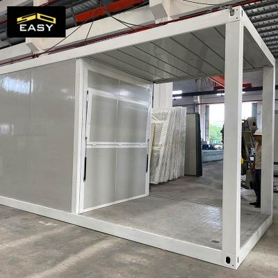 building a 20 ft inside shipping steel container shop in Malaysia