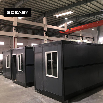 SOEASY folding container house in Germany